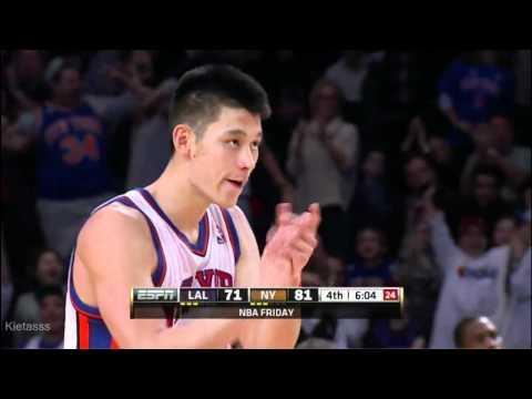 NBA - Jeremy Lin's 38 Points Highlights