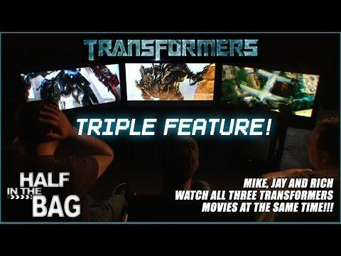 3 Guys Try To Watch All The Transformers Movies At The Same Time