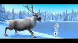 Disney's Cute Frozen Animated Movie