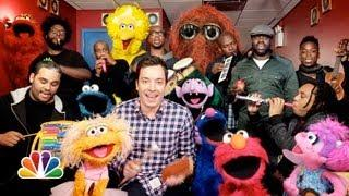 Sesame Street Theme Song Cover By Sesame Street, Jimmy Fallon And The Roots
