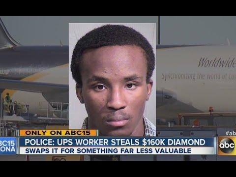Stupid UPS Employee Steals $160 000 Diamond And Trades It For $20 Weed