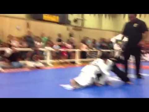 Funny Ending To Jiu-Jitsu Fight Match Between 4 Years Old