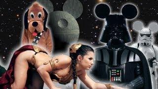 If Star Wars Movie Was Made By Disney Parody