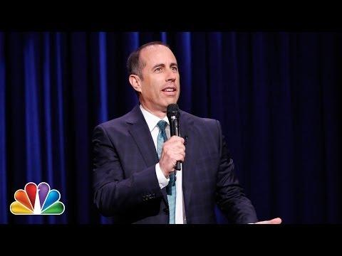 Jerry Seinfeld's Funny Standup On Jimmy Kimmel's The Tonight Show