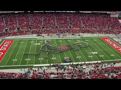 Classic Rock Performance By Ohio State University Marching Band