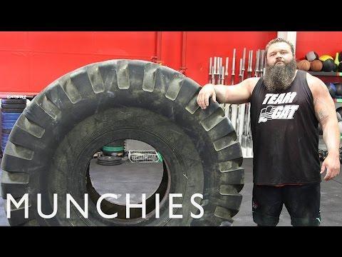 Strongman Robert Oberst Shares His Diet Secrets