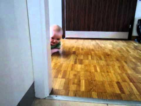 Cute - Baby Explores The Apartment