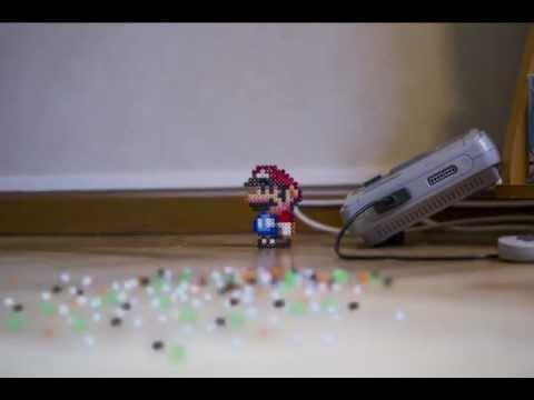Cool - Mario World Stop Motion Animation
