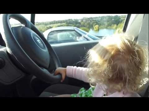 Jokes - Baby Girl Plays Peek-A-Boo Game With Dad