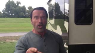 Arnold Schwarzenegger Saying Put That Cookie Down