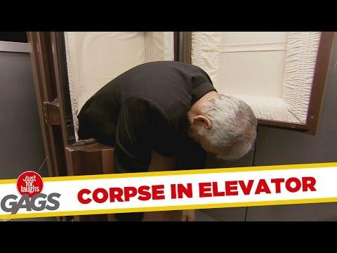 Dead Body In The Elevator Prank