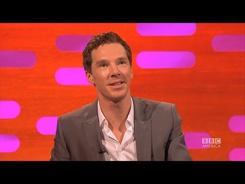 Benedict Cumberbatch Tries To Say Penguins On The Graham Norton Show
