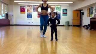 Mother And 2 Years Old Daughter's Cute Beyonce's End Of Time Dance