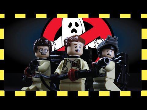 Ghostbusters Movie Recreated Using LEGO Blocks
