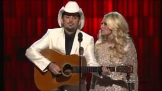 Carrie Underwood And Brad Paisley's Funny Opening For CMA Awards 2012