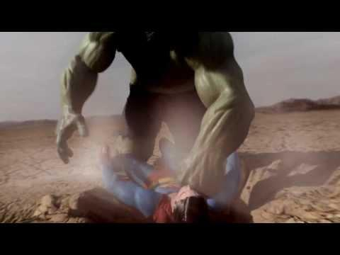Epic Fight Between Superman And Hulk - Part 2