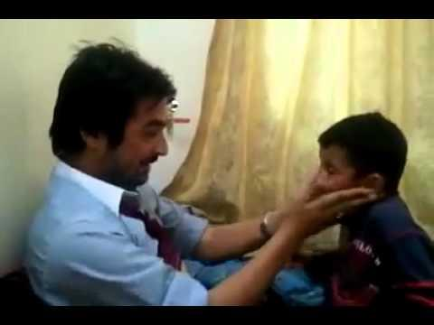 Kids - Father And Son Slap Each Other