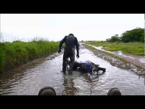 FAIL - Motorcycle Riding In The Water FAIL