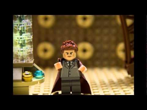 50th Anniversary Tribute To Doctor Who Using LEGO Blocks