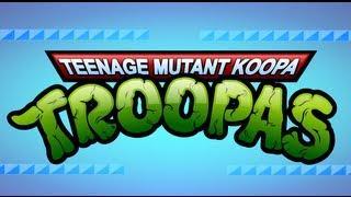 Teenage Mutant Ninja Turtles Super Mario Parody