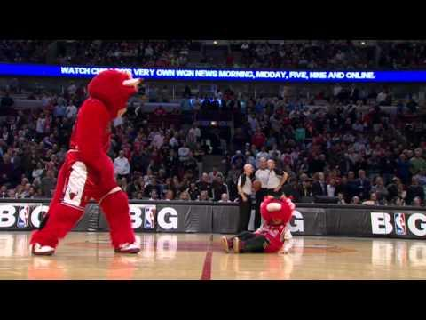 Funny Compilation Of Benny The Bull From Chicago Bulls