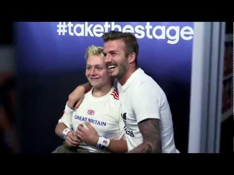 Jokes - David Beckham Surprises Fans
