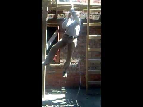 FAIL - Next Time He'll Use Safety Harness