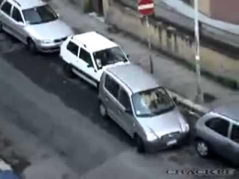 FAIL - Lousy Parallel Parking In Small Spot
