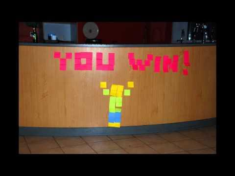 Cool - Stop Motion Post-It Game