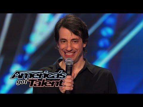 Dan Naturman's Funny Standup On America's Got Talent