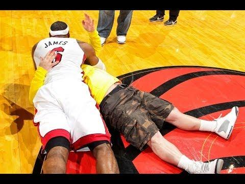 Funny Basketball Bloopers From 2013