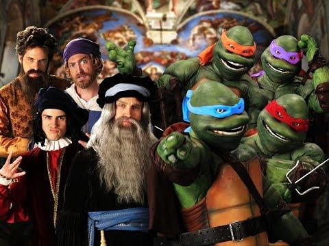 Epic Rap Battle Between Artists Vs Teenage Mutant Ninja Turtles