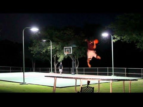 Awesome - Frisbee And Basketball Trick Shots