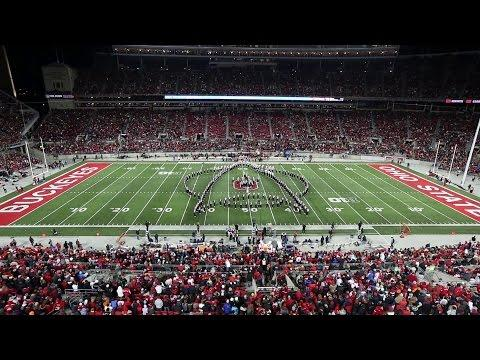 Space Themed Performance By Ohio State University Marching Band