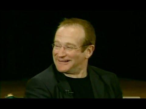 Robin Williams' Funny Response To James Lipton's Heaven Question