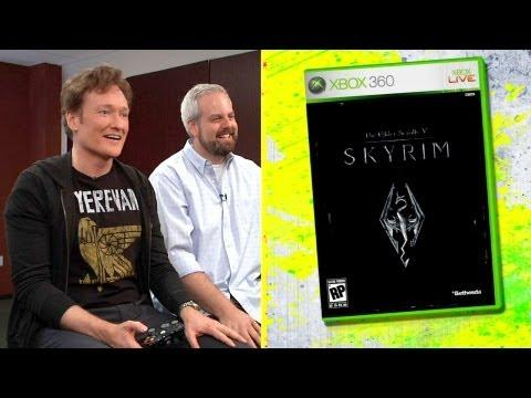 Conan O'Brien - Skyrim Game Rewview By Conan O'Brien