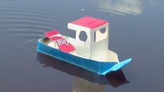 DIY Pop Pop Boat Tutorial