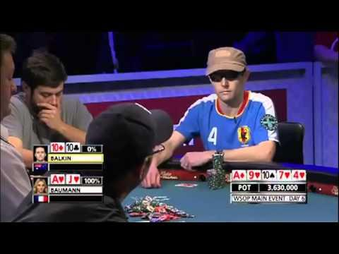 Poker Player Celebrates And Doesn't Realize He Lost