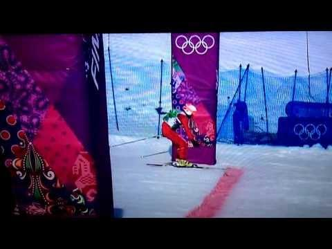 An Epic Finish To Skiing At Russian Sochi Olympics