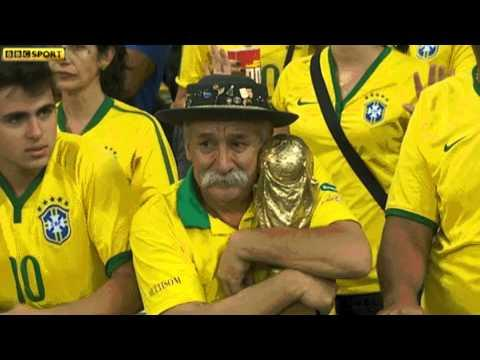 Saddest Man At The World Cup After Brazil Gets Killed By German