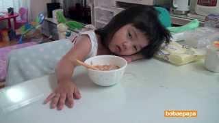 Cute Girl's Terrible Monday Morning