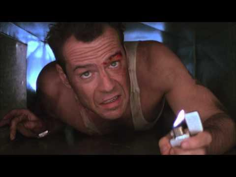Jimmy Kimmel - Bruce Willis' Die Hard Boiled Eggs Movie Spoof