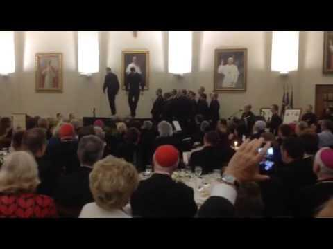 Priests Show Off Their Dancing Skills