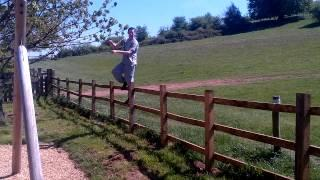 Back Flip Attempt From The Fence FAIL