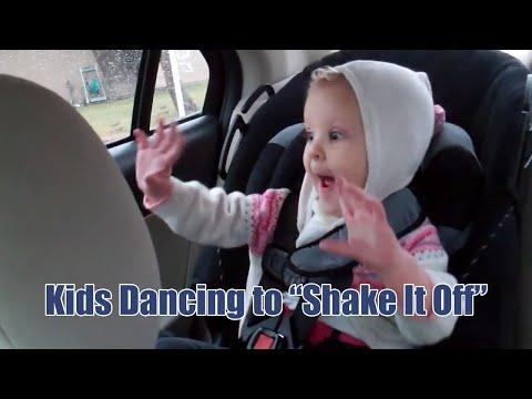 Compilation Of Kids Dancing To Taylor Swift's Shake It Off Song