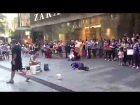 Bully Vs The Street Performer