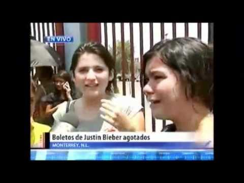 FAIL - Girls Freaking Out Becaue Justin Bieber Concert Is Sold Out