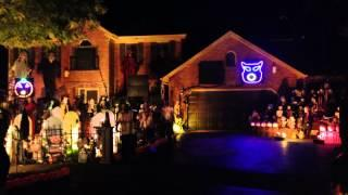 Halloween House Light Show 2013 Set To Fall Out Boy's Song