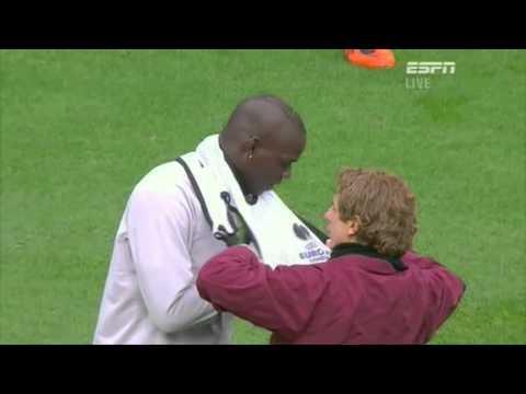 Mario Balotelli Trolls The Staff