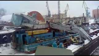 Ship Lifting Crane From Russia FAIL